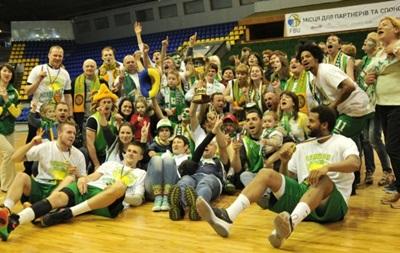 Химик - чемпион Украины по баскетболу