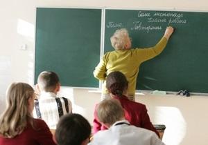 Кабмин: Процент украинских школ постоянно растет