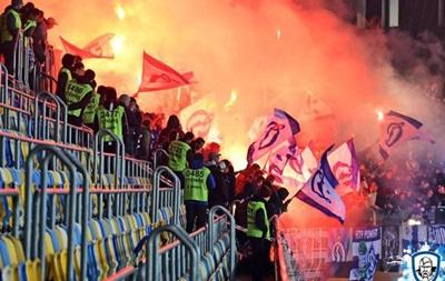 Фанати Динамо: Степаненко показав кілька нецензурних жестів