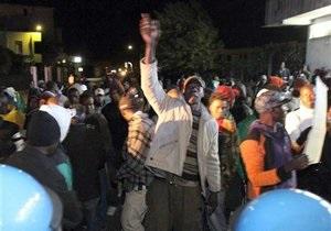 На юге Италии мигранты из Африки устроили массовые беспорядки