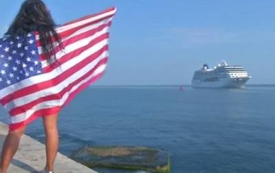 В Гавану прибыл первый за 50 лет круизный лайнер из США