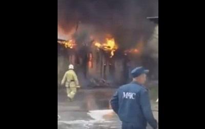 У Донецьку сталася сильна пожежа