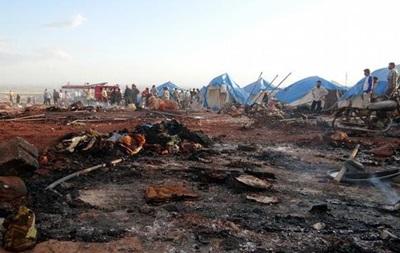 Авиаудар по лагерю беженцев в Сирии могут признать военным преступлением