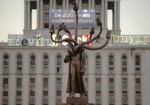 В Бухаресте Ленина превратили в гидру