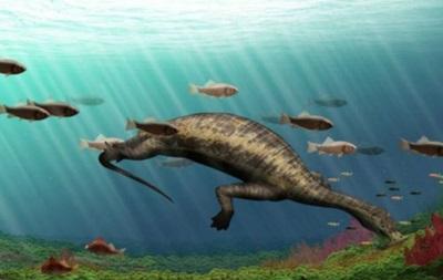 Ученые обнаружили первого морского динозавра-вегетарианца