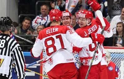 Данія всуху здолала Норвегію на чемпіонаті світу з хокею