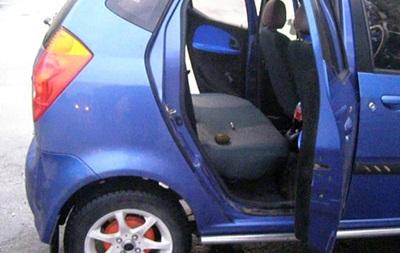 На Полтавщині в таксі вибухнув запал від гранати