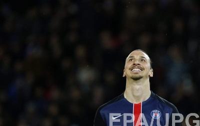Ібрагімович - найкращий гравець сезону в чемпіонаті Франції