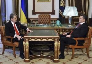 Ющенко рассказал, что он почувствовал, когда Янукович стал президентом