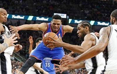 NBA: Оклахома б є Сан-Антоніо на виїзді