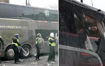 Уболівальники Вест Хема атакували автобус Манчестер Юнайтед