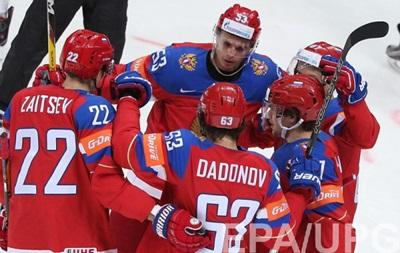 ЧС з хокею: Росія відправила десять шайб у ворота Данії