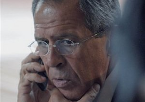 Лавров слышал, что  кое-кто уже поставляет в Ливию оружие