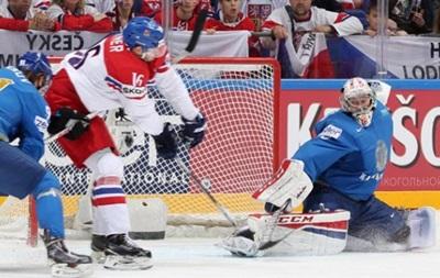 ЧС з хокею: Чехія впевнено обіграла Казахстан