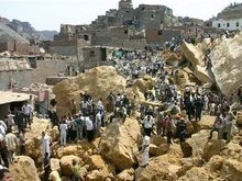 Число жертв обвала в Египте возросло до 82 человек