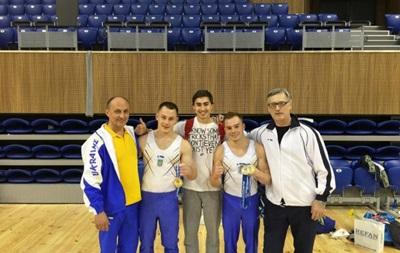 Українські гімнасти здобули п ять золотих медалей на Кубку світу