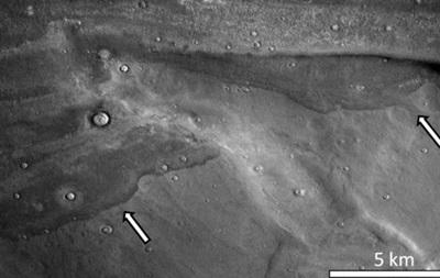 На Марсі могли бути цунамі - вчені