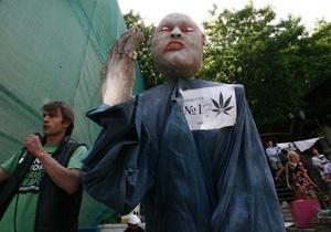 Фотогалерея: Декриминализация где?! Киев присоединился к всемирному Маршу Свободы
