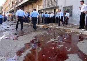В Ираке прогремели два взрыва, 20 человек погибли