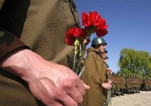 День победы - день победы в Киеве: на Крещатике проходит шествие КПУ