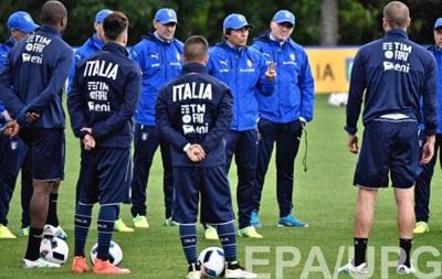 Сборная Италии огласила предварительную заявку на Евро-2016