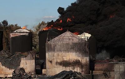 Пожар на нефтебазе БРСМ: расследование завершено