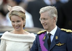 Новости Бельгии - коронация Филипа: Новым бельгийским монархом стал принц Филип