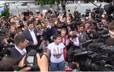 Савченко: Я на волі