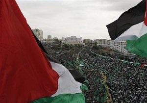 Палестинское движение ХАМАС отметило 22-летие многотысячным митингом в Газе