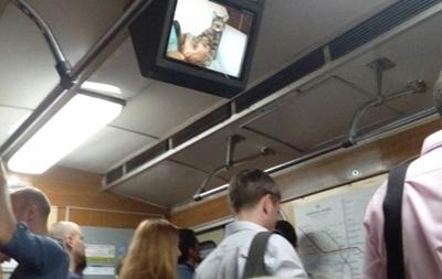 Хакеры в метро Киева: на мониторах появились коты