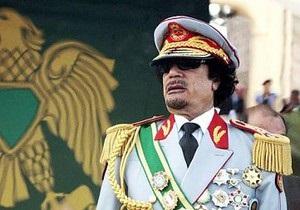 Франция и Британия считают, что Каддафи должен быть арестован