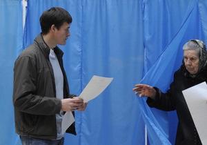 В Донецкой области на всех 20 округах уверенно побеждают кандидаты от Партии регионов