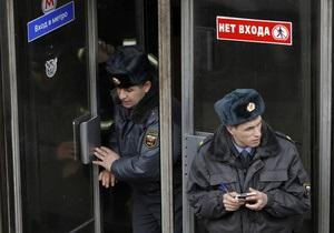 Московские милиционеры задержали телефонную террористку, угрожавшую взрывами в метро