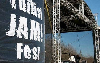 В Грузии священники сорвали международный рок-фестиваль