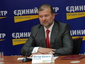 Совет черкасского Единого центра вышел из партии из-за Балоги