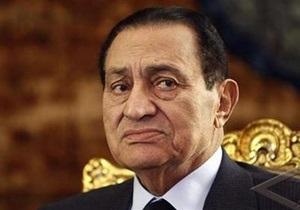 Прокурор Египта: Мубарак слишком болен, чтобы его отправлять в тюрьму