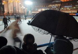 Завтра в центре Киева откроют парк развлечений и ледовый каток