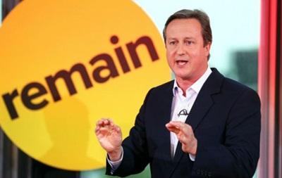 Кемерон знову попередив про ризик для економіки Британії у разі виходу з ЄС