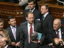 Регионалы потребовали официального объявления о существовании коалиции