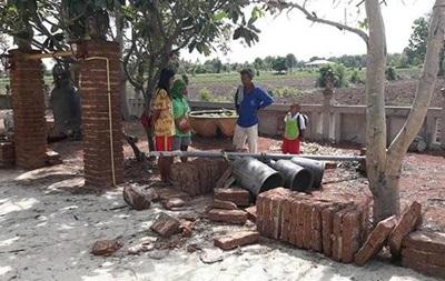 В Таиланде ребенка убило колоколами храма