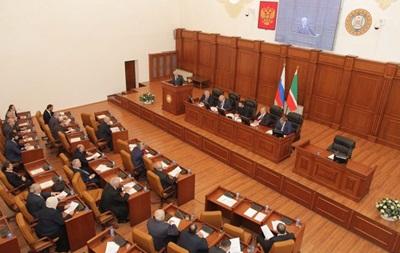 Парламент Чечні саморозпустився для економії бюджету