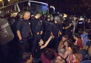 Болгарские министры просидели всю ночь в заблокированном протестующими здании парламента