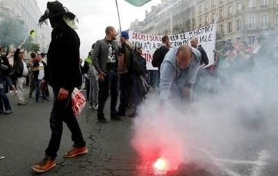Французская полиция разрешила демонстрации профсоюзов