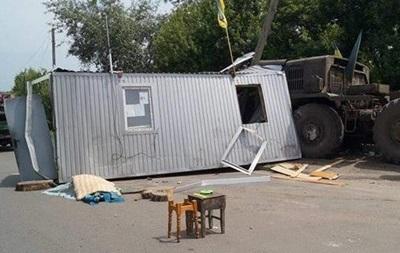 Полиция сообщила подробности ДТП с тягачем на Луганщине