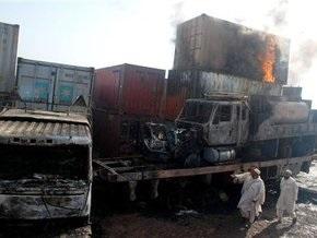 В Пакистане обстреляны позиции НАТО