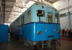 В киевском метро начал курсировать вагон-музей