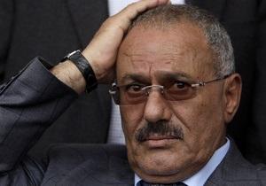 Президент Йемена прибыл на лечение в США