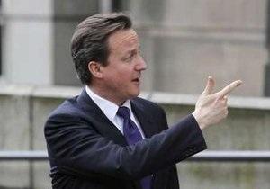 Кэмерон объявил о начале аудиторской проверки расходов правительства Брауна
