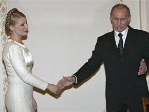 Тимошенко заявила, что не будет говорить с Путиным о газе