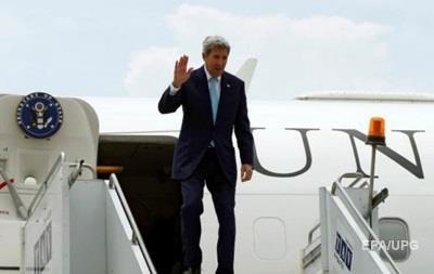 В Украину прибывает госсекретарь США Керри